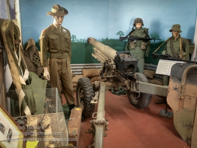 A section of the Vietnam War display room at the Merredin Military Museum. Photo: Julian Tennant
