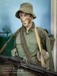 Australian infantryman, Vietnam. Photo: Julian Tennant
