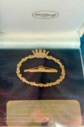 Royal Malaysian Navy Museum (Muzium Tentera Laut Diraja Malaysia). Chilean submariner's presentation made to the Royal Malaysian Navy.