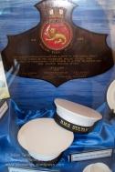 Royal Malaysian Navy Museum (Muzium Tentera Laut Diraja Malaysia). Mementos of two Royal Navy ships, HMS Malaya and HMS Sultan, both having historical links to Malaysia.