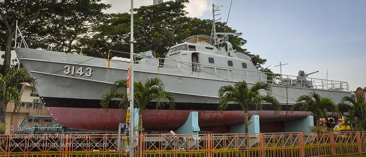 Royal Malaysian Navy Museum (Muzium Tentera Laut Diraja Malaysia) Melaka