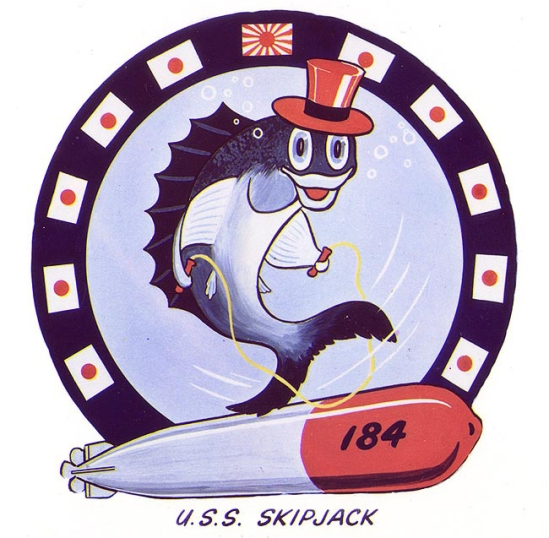 Insignia of USS Skipjack (SS-184) during WW2