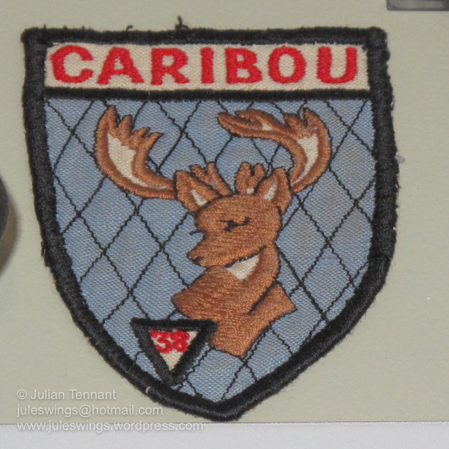 Patch worn by Caribou aircrews of No 38 Squadron while on operations in Vietnam
