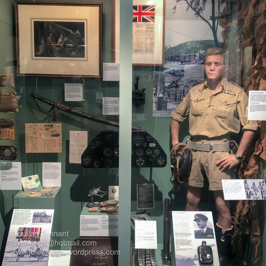 World War 2 war in the Pacific display in the Heritage gallery. Photo: Julian Tennant