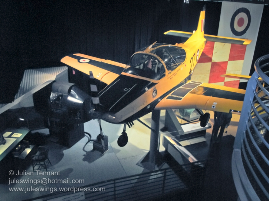 CT4A Airtrainer in the Training Hangar. Photo: Julian Tennant