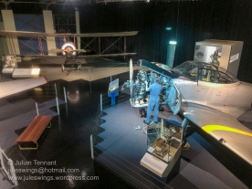 Training Hangar display area. Photo: Julian Tennant