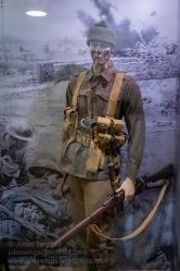 Australian trench raider, Western Front 1917. Photo: Julian Tennant