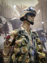 Military Police sergeant in Iraq. Photo: Julian Tennant