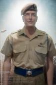 Australian Special Air Service Regiment soldier in summer dress, circa 1980. Photo: Julian Tennant