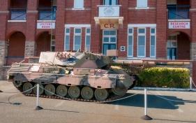 Leopard AS1 Main Battle Tank at the Army Museum of Western Australia. Photo: Julian Tennant