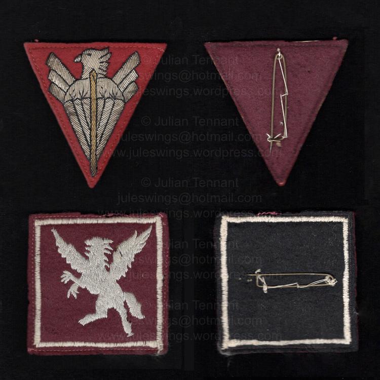 ARVN unidentified Airborne SSI 2