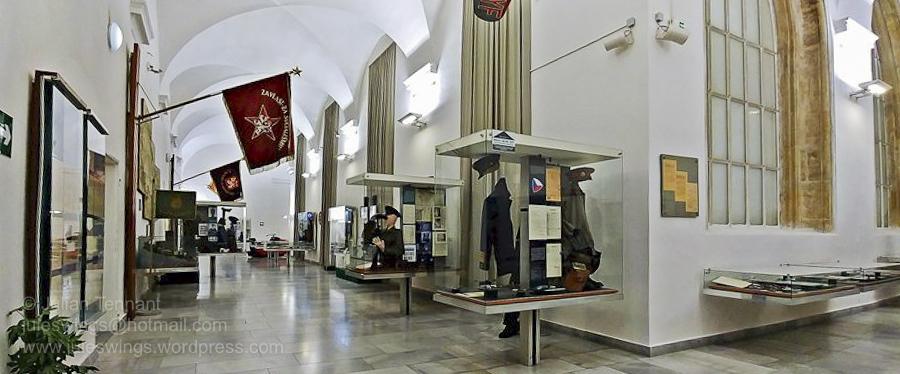 czech police museum corridor-01