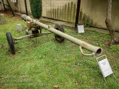 Type 59, 82mm Recoiless anti-tank gun. Photo: Julian Tennant