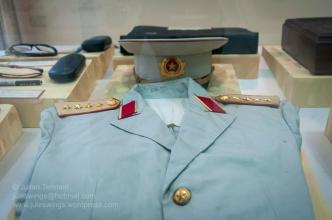 PAVN Genera's uniform. Photo: Julian Tennant