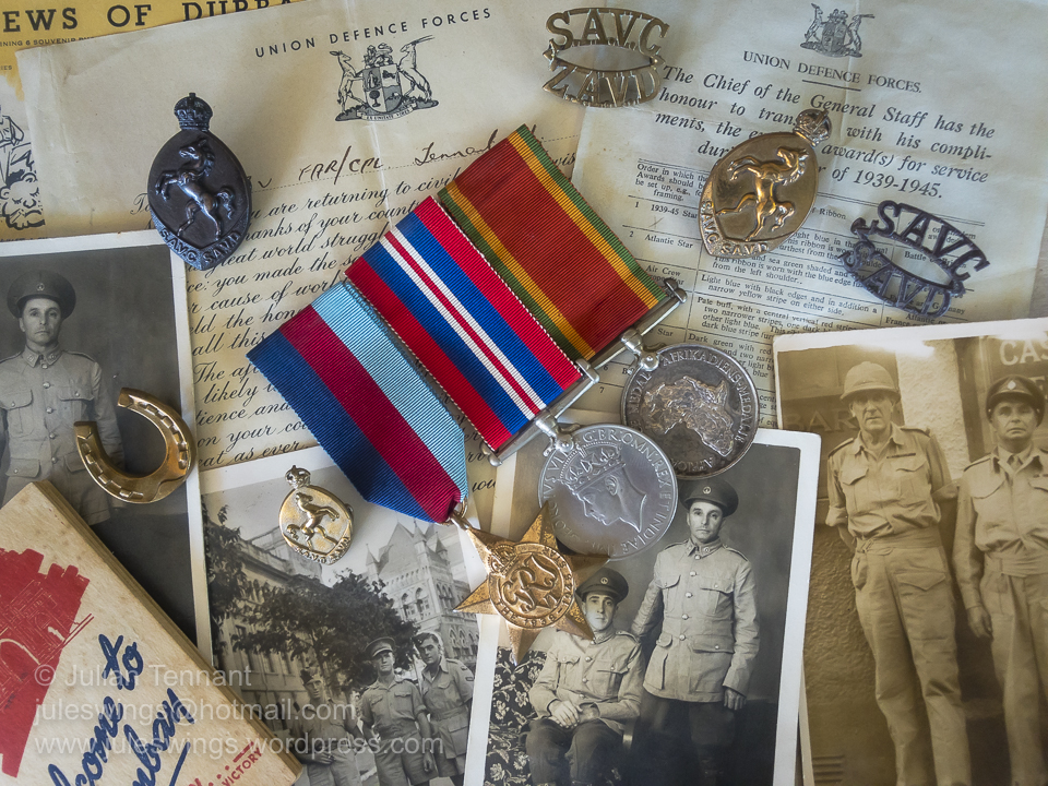 A WW2 South African Veterinary Corps MedalGroup