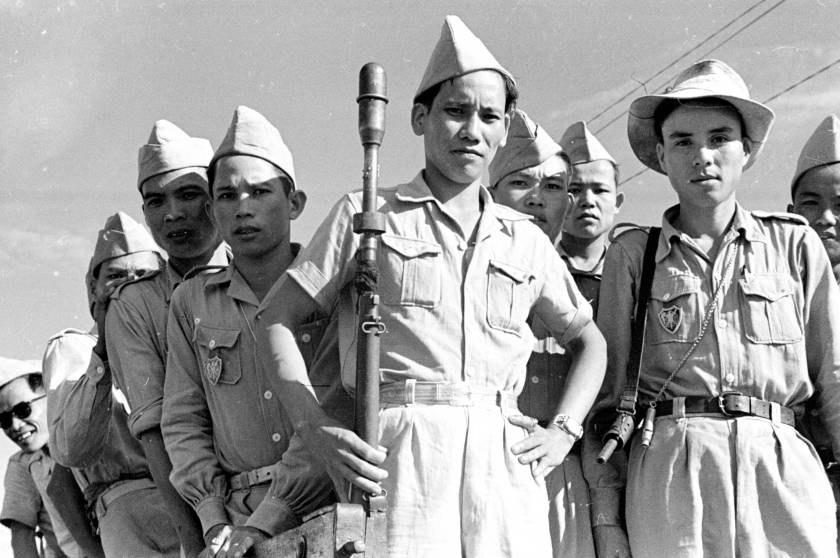 1950-group-portrait-of-cao-dai-army-soldiers-in-ty-ninh_12476225105_o