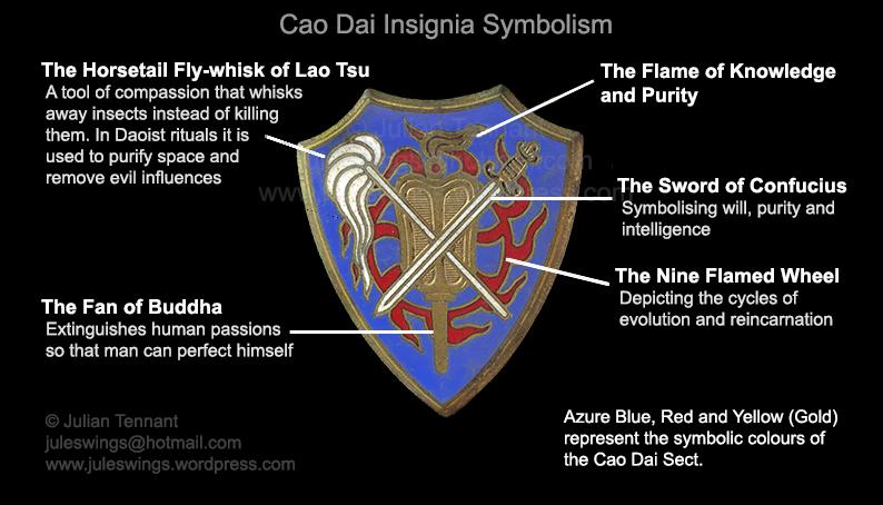 cao dai badge symbolism