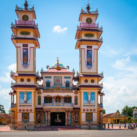 The Cao Đài Holy See at Tây Ninh. Photo: Julian Tennant