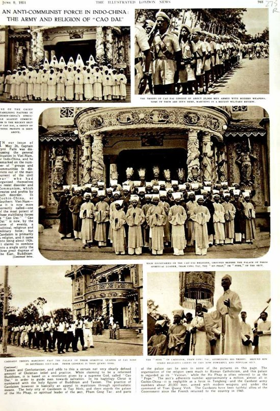 cao dai illustrated london news 9 june 1951