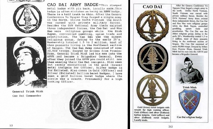 incorrect cao dai badge reference