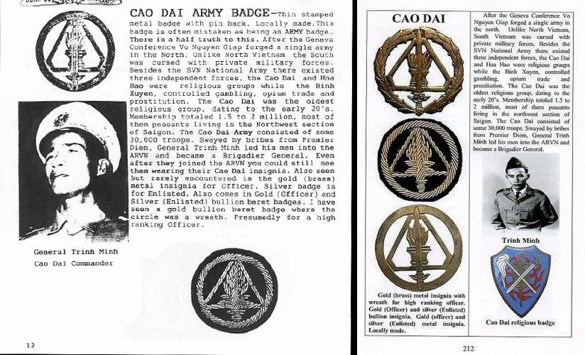 incorrect cao dai badge reference