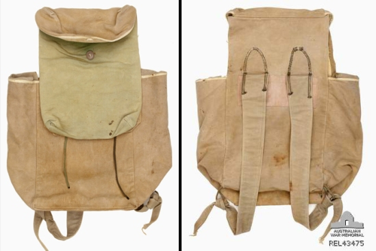 Viet Cong haversack : Sapper P M Cachia, 3 Field Troop, Royal Australian Engineers