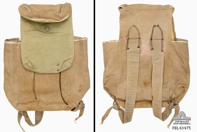 Viet Cong haversack : Sapper P M Cachia, 3 Field Troop, Royal Australian Engineers