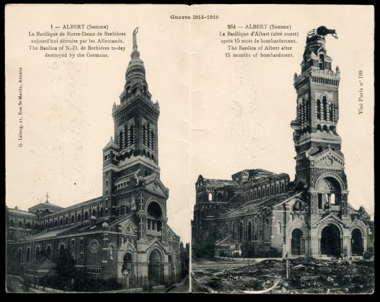 1916 Basilica of Notre-Dame de Brebieres