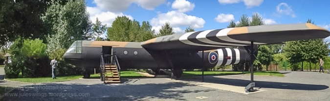 Fullsize replica of an Airspeed AS 51 Horsa Glider as used by the British troops in Operation DEADSTICK and the assault on D-Day. Photo: Julian Tennant