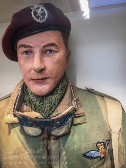 Glider Pilot of the Army Aviation Corps. Photo: Julian Tennant