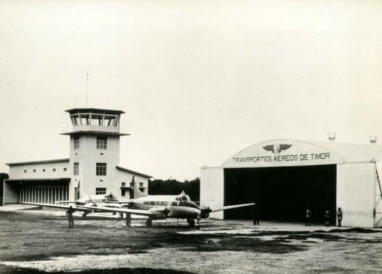 TAT hangar_Dili_Timor-Leste