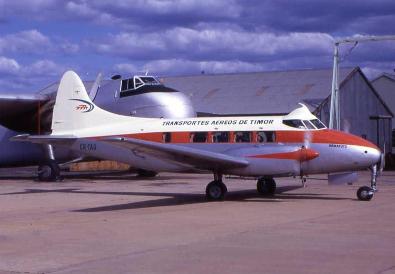 Transportes_Aereos_De_Timor_De_Havilland_DH-104_Dove_1B_Wheatley
