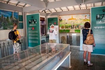 Gallery at the Cambodia Landmine Museum. Photo: Julian Tennant
