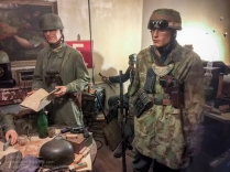 Dead Man's Corner Fallschirmjäger Regiment 6 Regimental Command Post exhibit detail. Photo: Julian Tennant