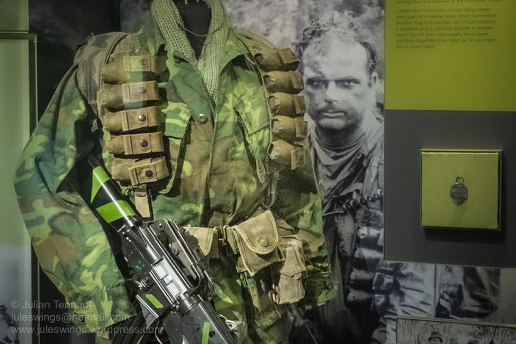 Australian War Memorial update and SAS trooper Don Barnby's Vietnamitems.