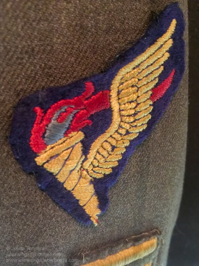 US Airborne Pathfinder qualification badge. Photo: Julian Tennant