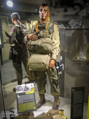 "Pfc. Jack N. ""Hawkeye"" Womer. HQ Co. 506 PIR. 101 Abn Div. A member of the 'Filthy 13', Jack landed in a swamp near St-Come-du-Mont and after extracting himself would end up fighting with the 501st PIR at Hell's Corner. Photo: Julian Tennant."