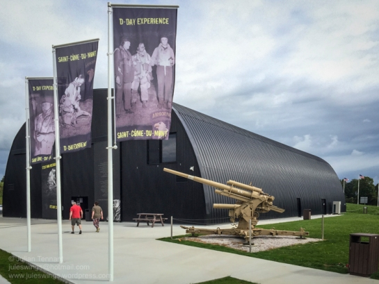 The D-Day Experience Museum. Photo: Julian Tennant