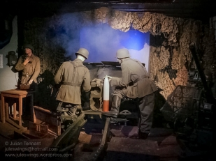 Sound and light show in casemate No.1. Photo: Julian Tennant