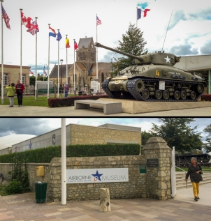 Airborne Museum - Sainte Mère Eglise. Photos: Julian Tennant