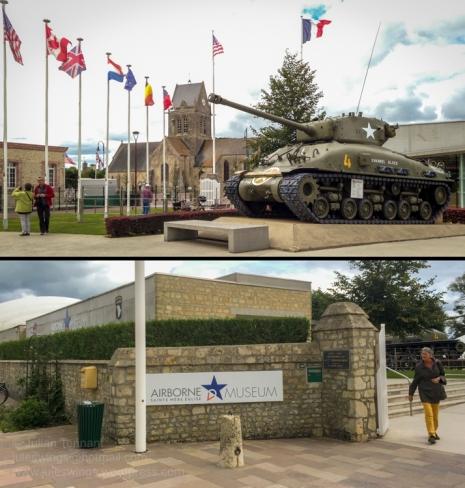 Airborne Museum - Sainte Mère Eglise. Photos: Julian Tennant