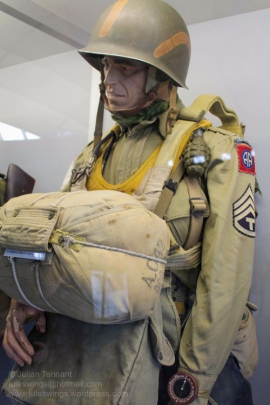 T3 (Technician Sergeant 3rd Grade) of the 505th PIR, 82nd Abn Div. Photo: Julian Tennant