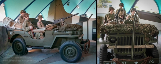 Willys MB 4x4 Jeep of the 82nd Airborne Division. Photos: Julian Tennant
