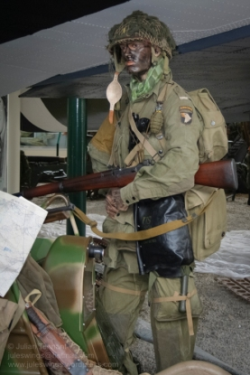 Paratrooper of the 502nd PIR. Photo: Julian Tennant