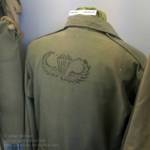 Customised paratrooper's M-43 jacket. Photo: Julian Tennant
