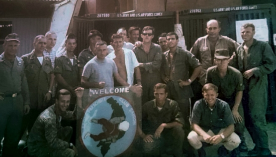 Saigon Parachute Club 1967 - Photo: Hector Aponte