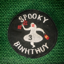 "Vietnam War period Douglas AC-47D ""Spooky"" gunship crew patch. Photo: Julian Tennant"