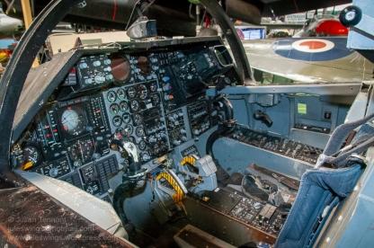 "General Dynamics F-111 ""Aardvark"" Cockpit Simulator. Photo: Julian Tennant"