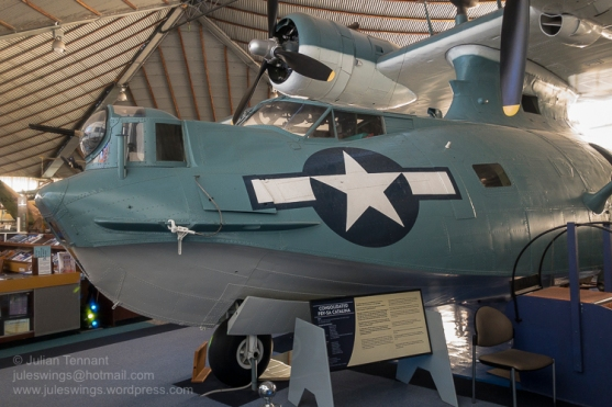 PBY-5A Catalina. Photo: Julian Tennant