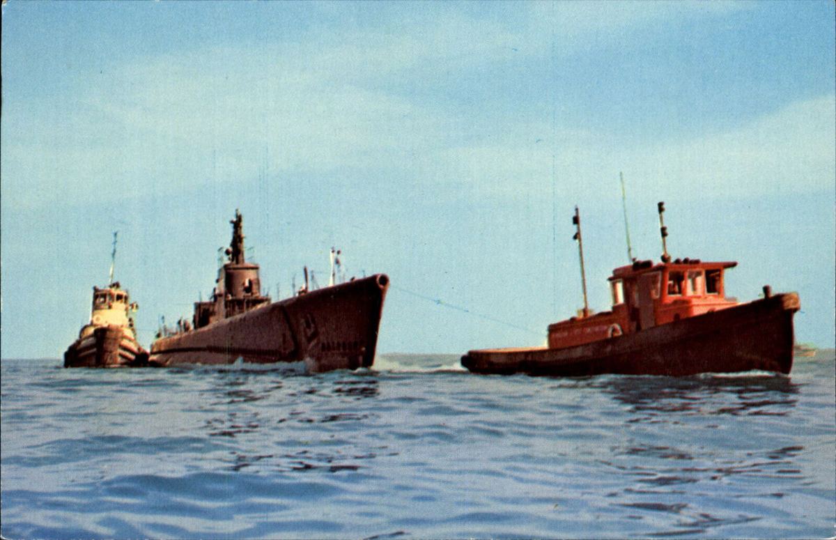 Cobia final voyage 1970
